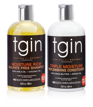 tgin Shampoo + Conditioner Duo - Melanin Beauty Suppliers