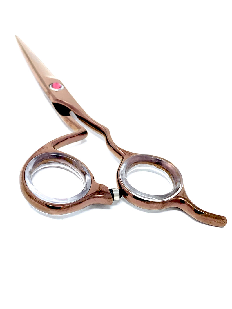 "5.5"" ICON ROSE Titanium ICT-164 Point Cutting Shears Lightweight"