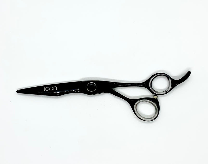 "6"" ICON Black Titanium Coated Shears Scissors ICT-117"