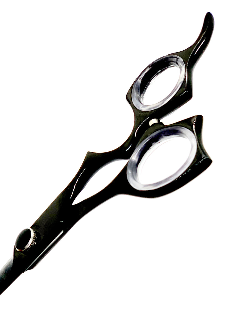 "6.5""  ICON Black Titanium Coated Scissors Shears ICT-300"