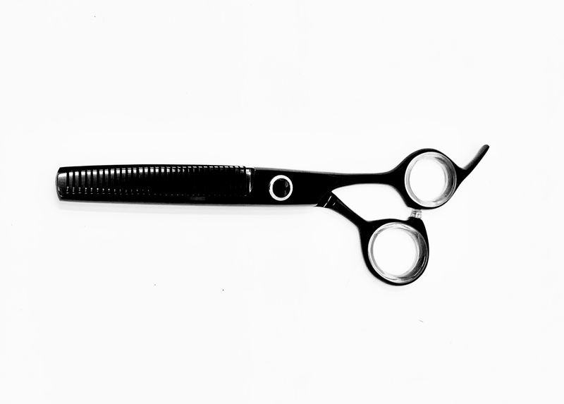 "6.5"" ICON BlackTitanium Coated Thinning Shears Scissors ICT-158AT"