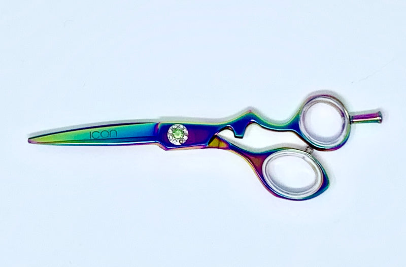"6"" ICON Multi-color Titanium Coated Shears Scissors ICT-100"