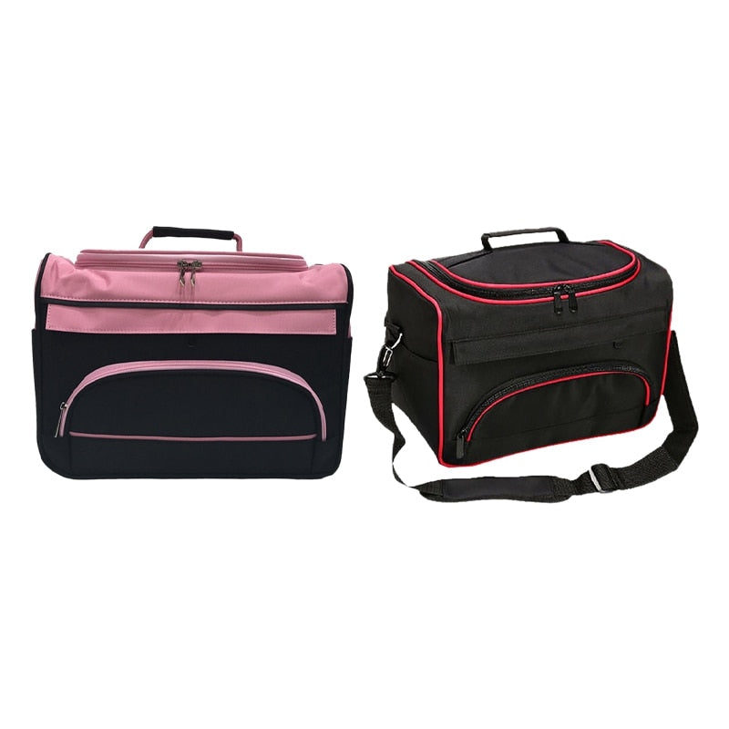 Professional Scissor Bag Salon Hairdressing Tool Multifunction Storage Bags Hair Scissors Tool Makeup Case Strip