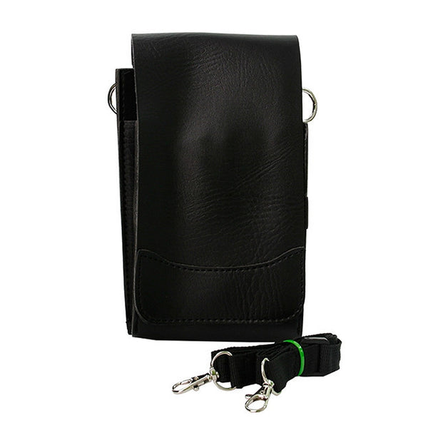 PU Leather Barber Scissor Bag Salon Hairdressing Holster Pouch Combs Case with Waist Shoulder Belt Tesoura De Cabeleireiro UN514