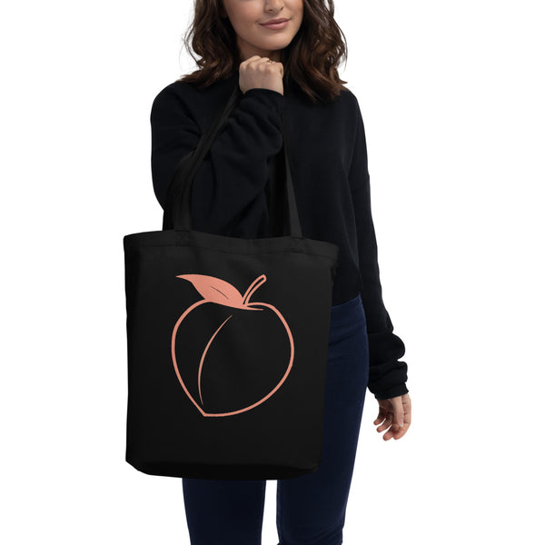 Sweet As A Peach Eco Tote Bag