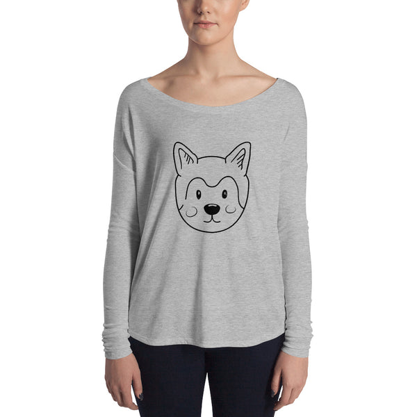 Woof Ladies' Long Sleeve Tee