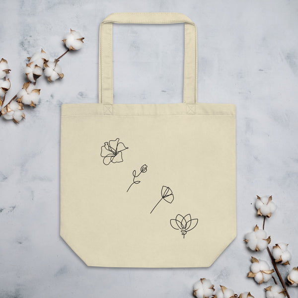 Live Simply Eco Tote Bag