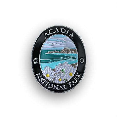 Acadia National Park Walking Stick Medallion
