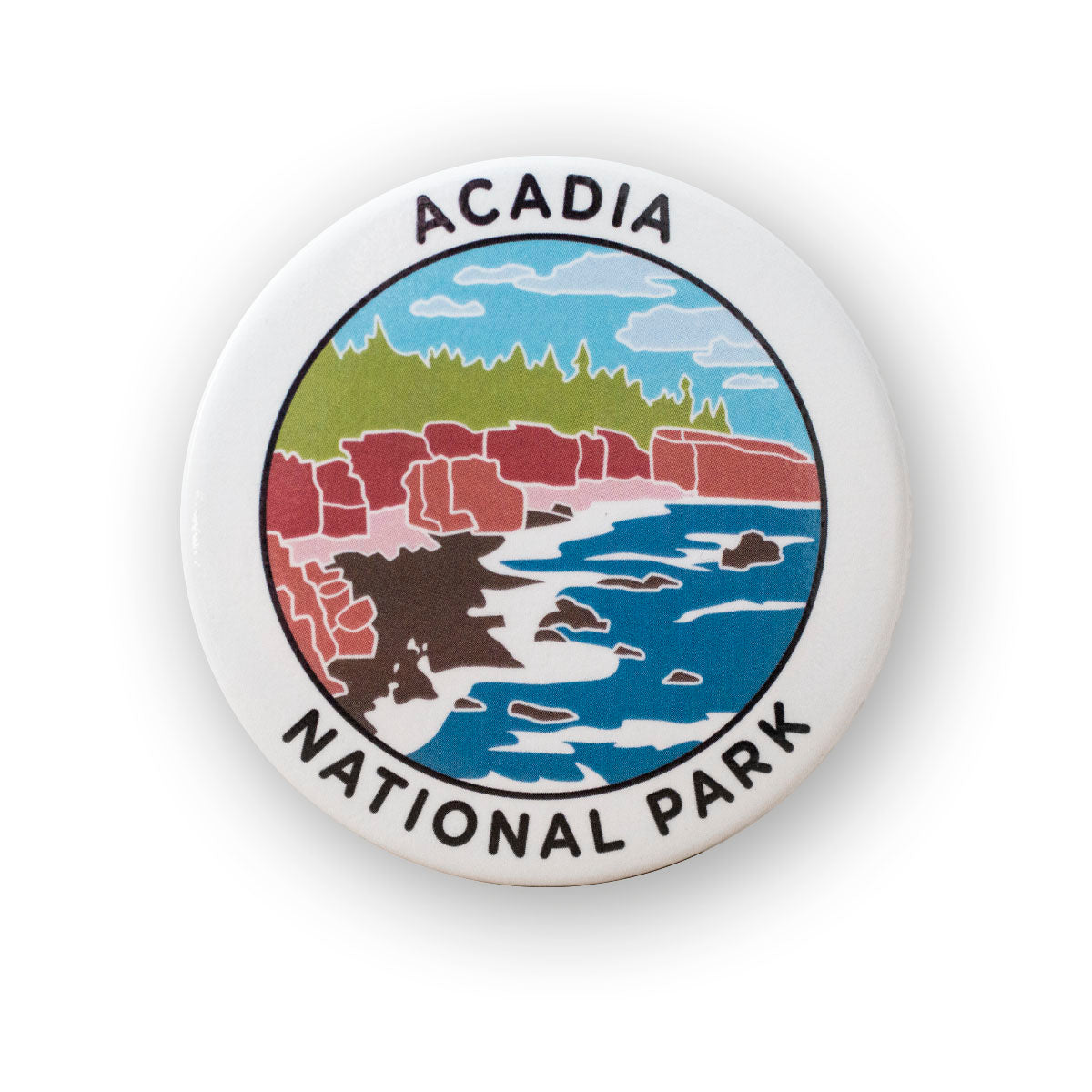 Acadia National Park Metal Magnet