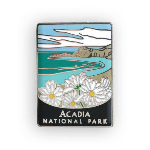 Acadia National Park Traveler Pin