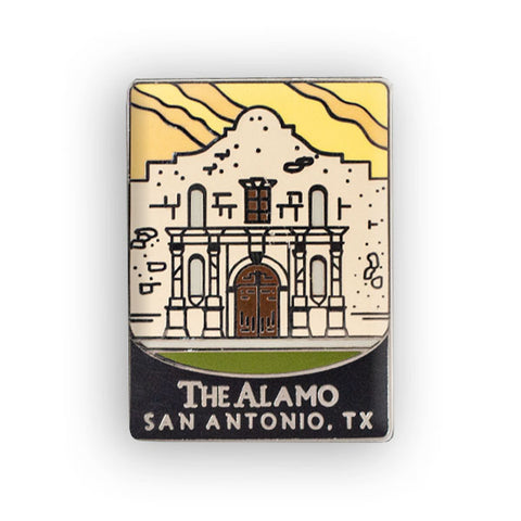 The Alamo Traveler Pin
