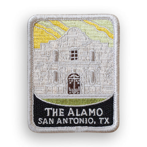 The Alamo Traveler Patch