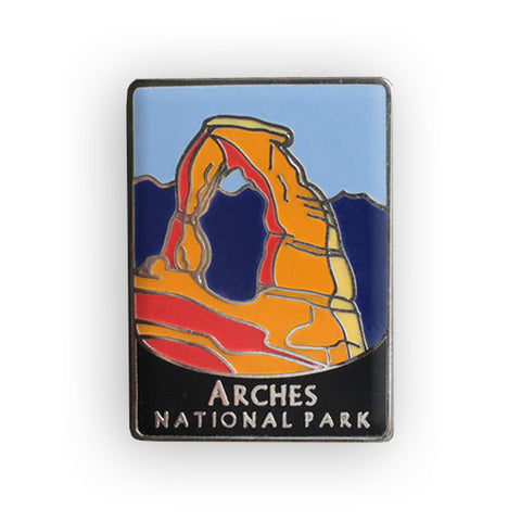 Arches National Park Traveler Pin