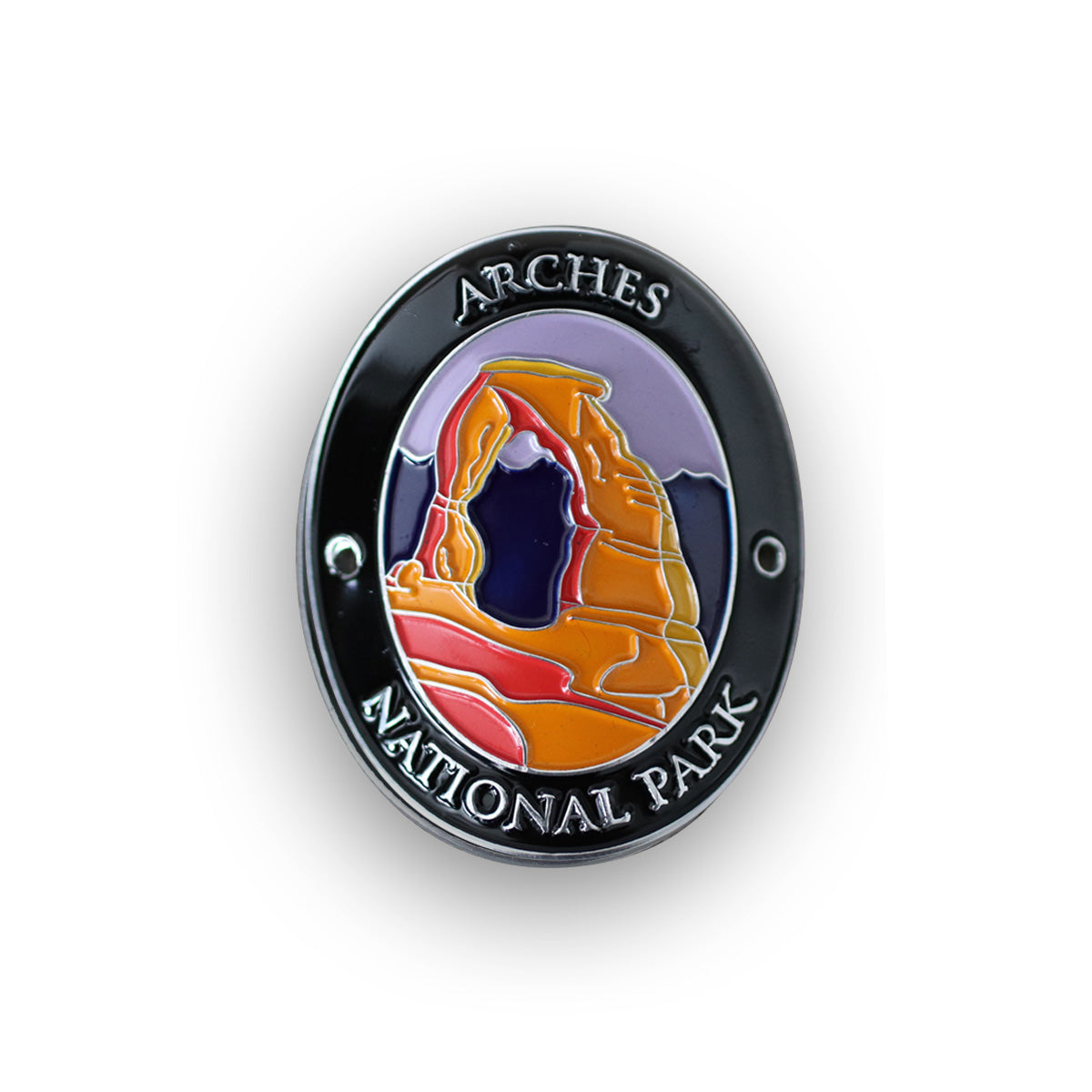 Arches National Park Walking Stick Medallion