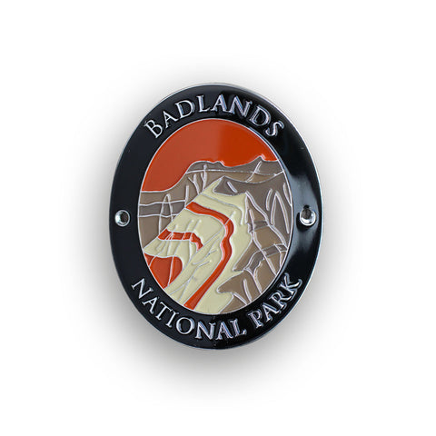 Badlands National Park Walking Stick Medallion