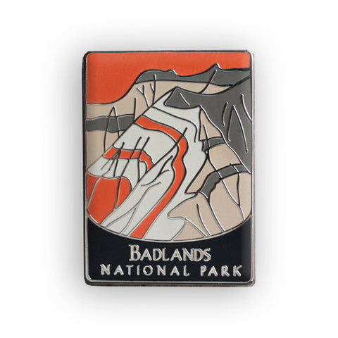 Badlands National Park Traveler Pin