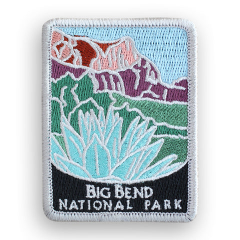 Big Bend National Park Traveler Patch