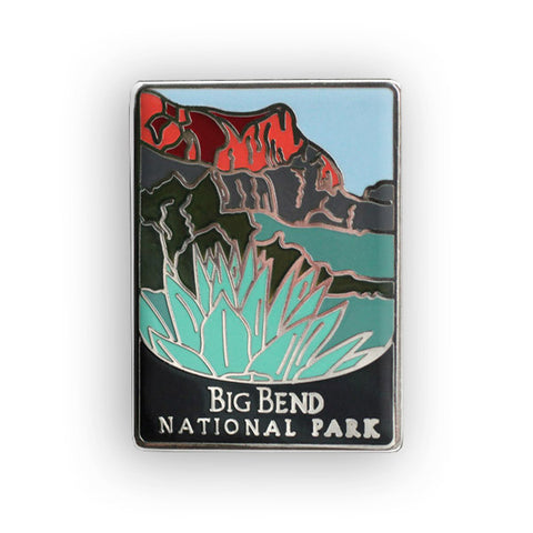 Big Bend National Park Traveler Pin