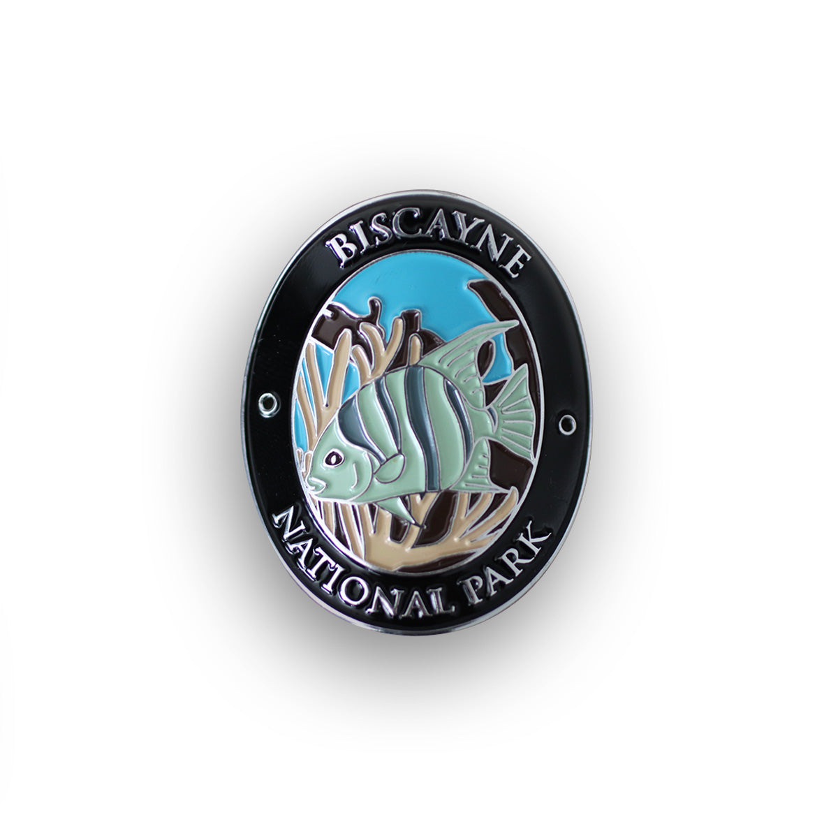 Biscayne National Park Walking Stick Medallion