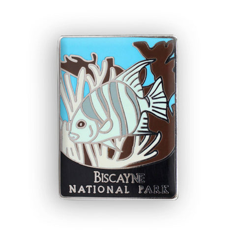 Biscayne National Park Traveler Pin
