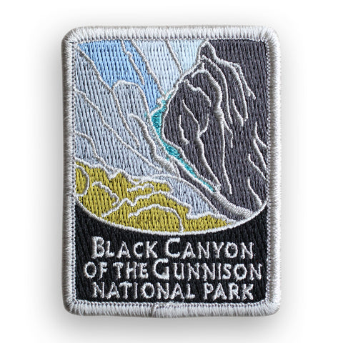 Black Canyon Of The Gunnison National Park Traveler Patch