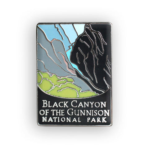 Black Canyon Of The Gunnison National Park Traveler Pin