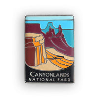 Canyonlands National Park Traveler Pin