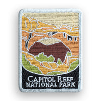 Capitol Reef National Park Traveler Patch