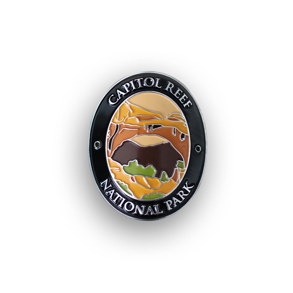 Capitol Reef National Park Traveler Walking Stick Medallion