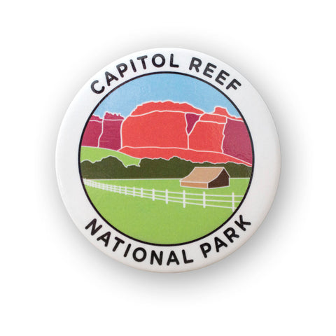 Capitol Reef National Park Metal Magnet