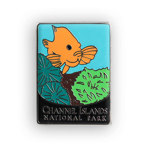 Channel Islands National Park Traveler Pin