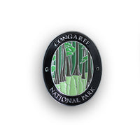 Congaree National Park Traveler Walking Stick Medallion