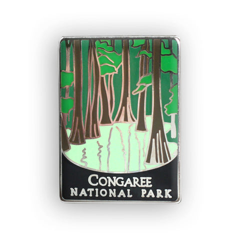 Congaree National Park Traveler Pin