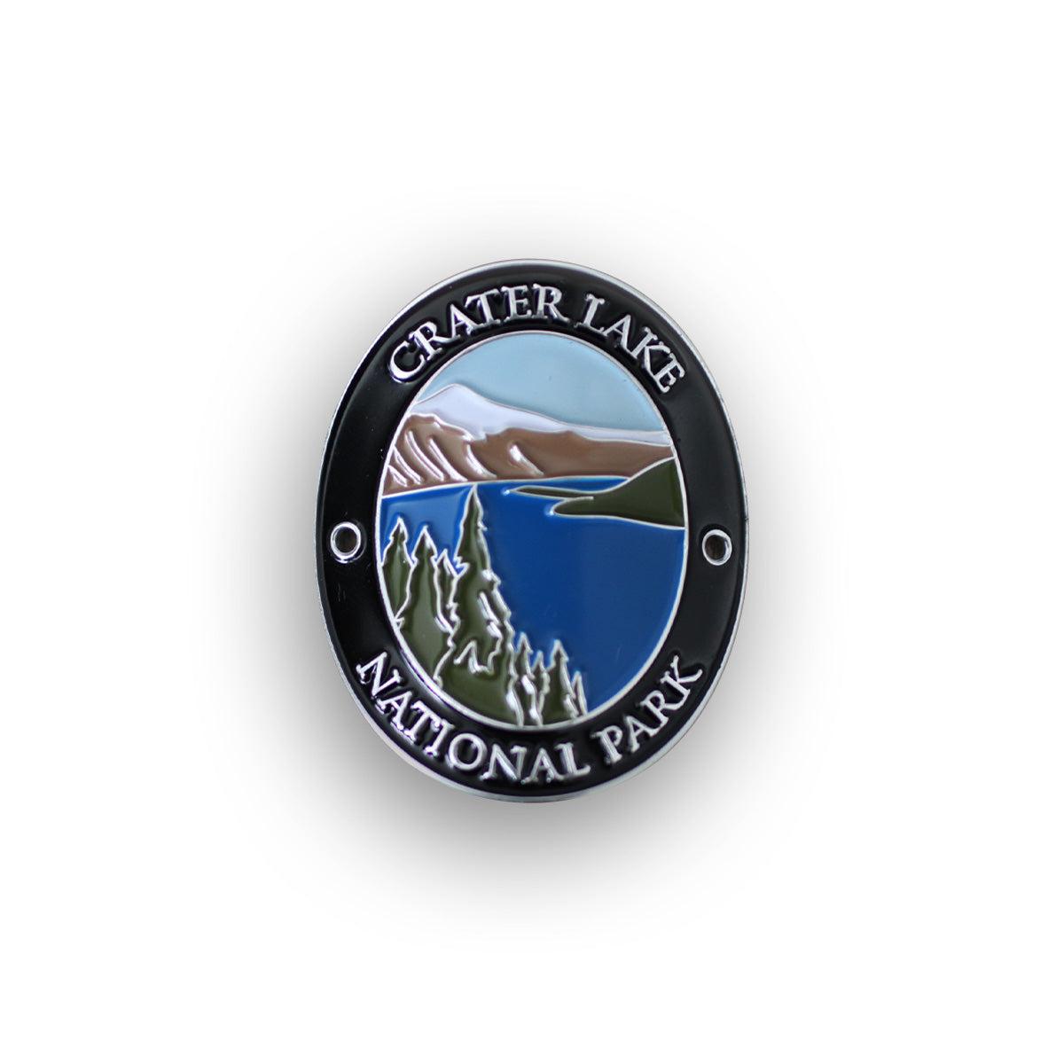 Crater Lake National Park Traveler Walking Stick Medallion