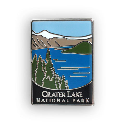 Crater Lake National Park Traveler Pin