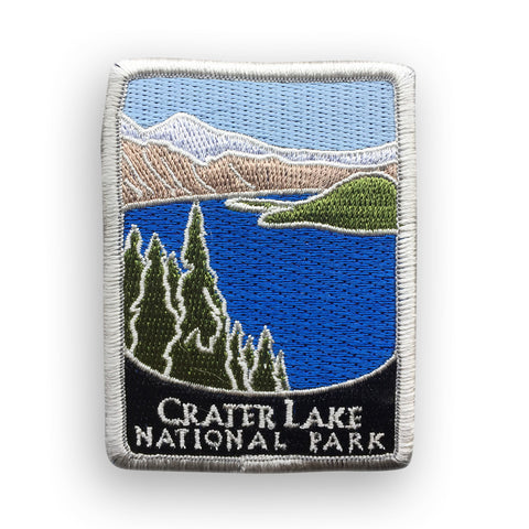 Crater Lake National Park Traveler Patch