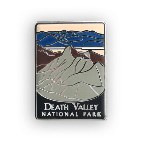 Death Valley National Park Traveler Pin