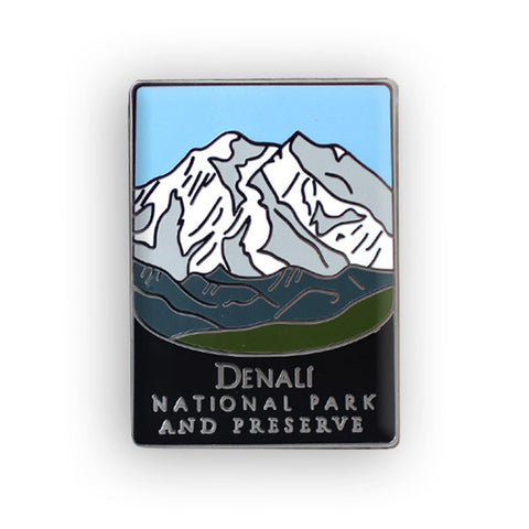Denali National Park and Preserve Traveler Pin