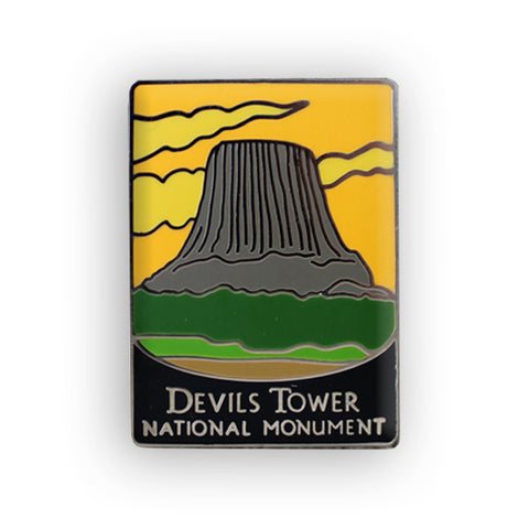 Devils Tower National Monument Traveler Pin
