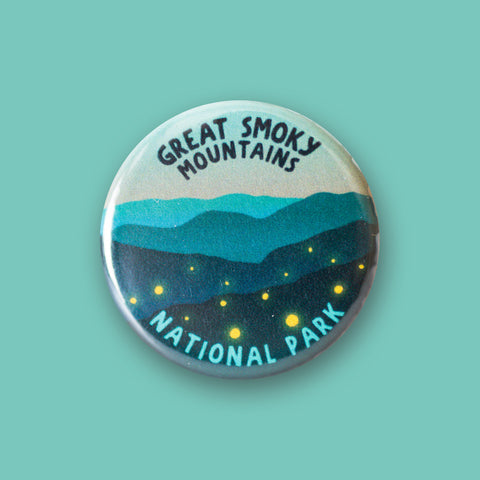 Great Smoky Mountains National Park Merit Badge Button