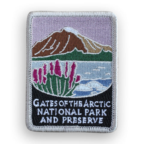 Gates Of The Arctic National Park And Preserve Traveler Patch
