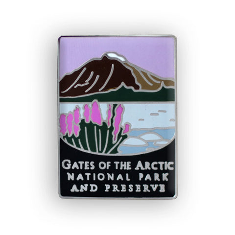 Gates Of The Arctic National Park And Preserve Traveler Pin