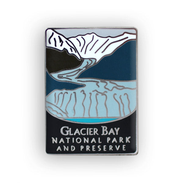 Glacier Bay National Park And Preserve Traveler Pin