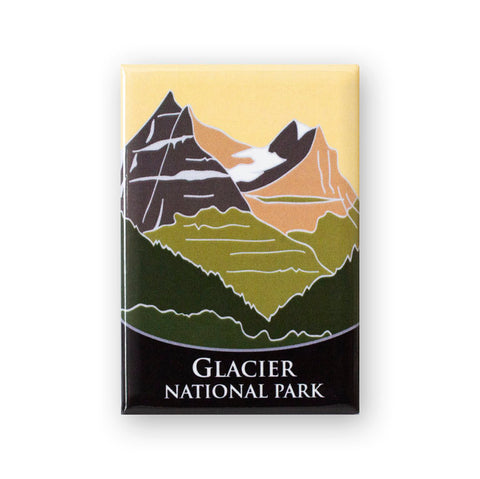 Glacier National Park Traveler Magnet