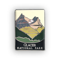 Glacier National Park Traveler Pin