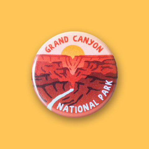 Grand Canyon National Park Merit Badge Button