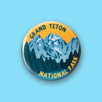 Grand Teton National Park Merit Badge Button
