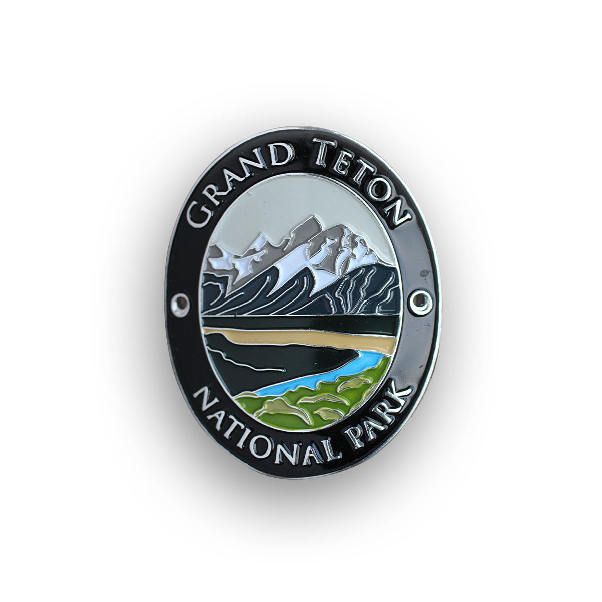 Grand Teton National Park Traveler Walking Stick Medallion