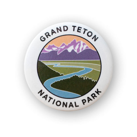 Grand Teton National Park Button