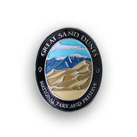 Great Sand Dunes National Park and Preserve Traveler Walking Stick Medallion